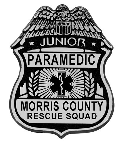 Kid's Junior EMT Plastic Badges